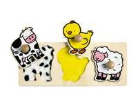 Tastpuzzels dieren