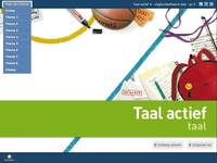 Taal actief 4 (2012) Taal Digibordsoftware