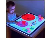 Lichtpaneel met meerdere kleuren licht