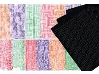 Patroonplaten voor waskrijt