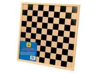 Schach- und Damebrett