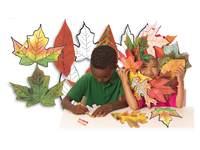Fotopapier reproduceerbare bladeren