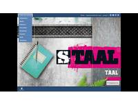 Staal taal Digibord software