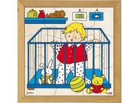 Puzzleserie Ein Baby ist geboren