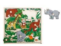 Einlegepuzzle Safari