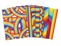 Regenboogpapier