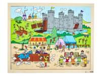 Puzzels ridders en prinsessen
