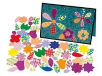 Papier-Stanzteile Wildblumen