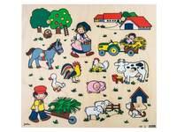 Inlegplank boerderij