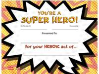 Super-Hero-certificaat